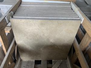 Mramorová dlažba Imperiál světlý, 60x60x2 cm, lesk