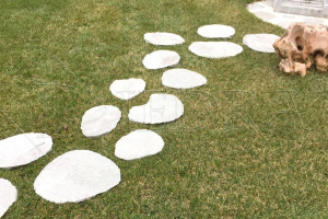 NÁŠLAP Oval XXL 40-65 cm, šlapák do zahrady