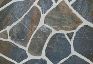 Kamenná dlažba / obklad 20-50 cm Blue, šlapáky do betonu