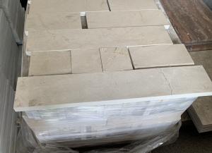 Mramorová dlažba - obklad Krém Marfil Klasik lesk, 10 x délka volná