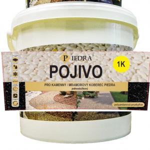 Pojivo pro kamenný koberec PIEDRA 100% UV polyuretan, 1 kg, jednosložkové