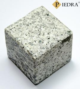 Dlažební kostky žula šedá 10x10x6, řezané hrany