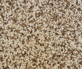 Kamenný koberec PIEDRA - Mramor Marfil + Hnědý