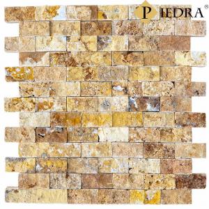 Obkladový kámen, přírodní travertin žlutý